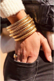 LOTT. Cobra L Armband gold