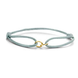 Iconic bracelet double open circle - Just Franky