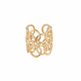 Gas Bijoux Ring Olympie goud