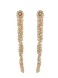 Champagne Waterfall Earrings - Paulie Pocket