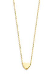 Capital necklace heart - Just Franky