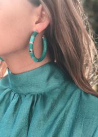 Creool groot turquoise - Barong Barong