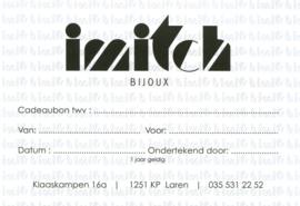 Imitch cadeaubon