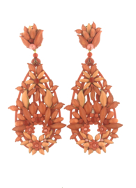 Oorbel drop special coral - Imitch Exclusive