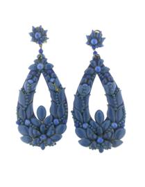 Oorbel drop blue special - Imitch Exclusive