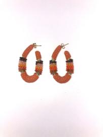 Creool klein ovaal oranje - Barong Barong