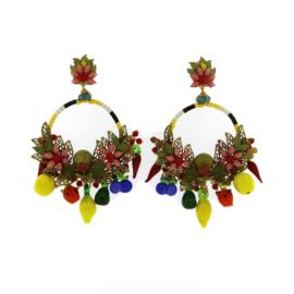 Oorbel multicolor pepper - Imitch Exclusive