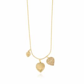 Gas Bijoux Love Mini necklace gold