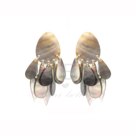 Fien oorbellen - Shell earrings