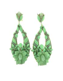 Oorbel drop turquoise special - Imitch Exclusive