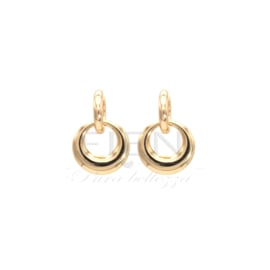 Fien oorbellen - Gold earrings