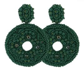 Big Green Earrings - Paulie Pocket