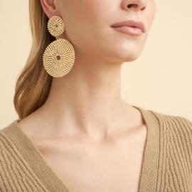 Gas Bijoux Onde Lucky earrings gold