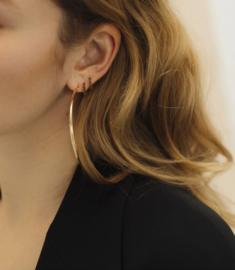 Classic noir earrings - Bobby Rose