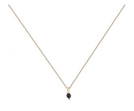 Classic black onyx necklace - Bobby Rose