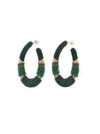 Creool groot ovaal groen - Barong Barong
