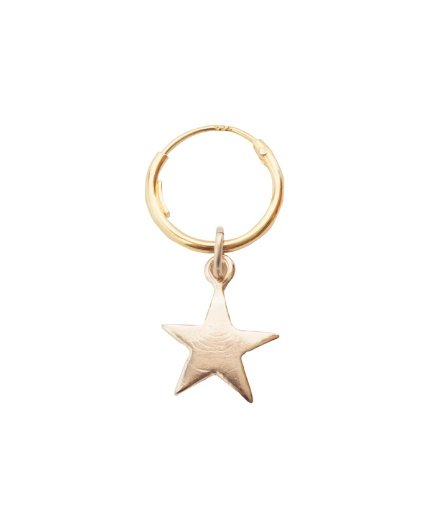 Star earring single - Bobby Rose