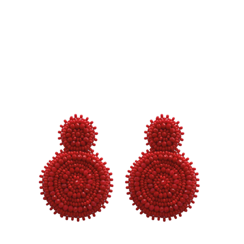 Beads Red - Paulie Pocket