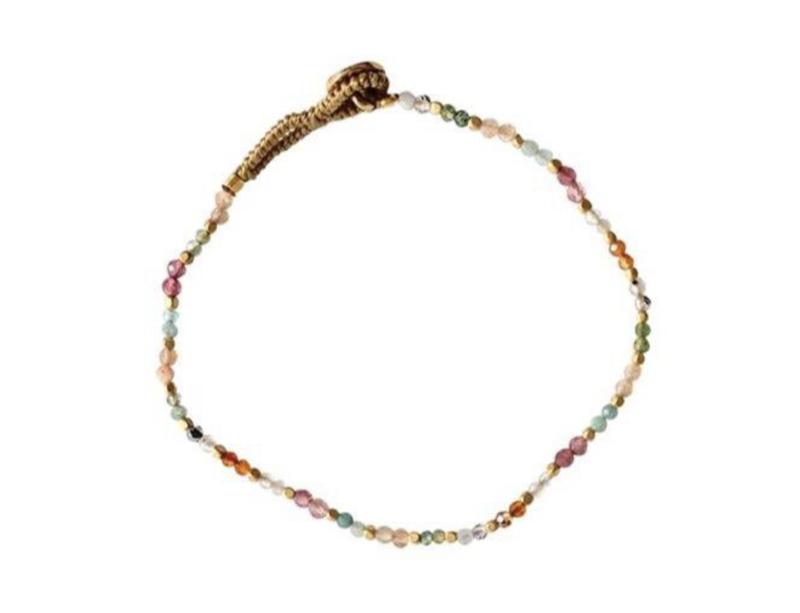 Armband multi steentjes - Ibu