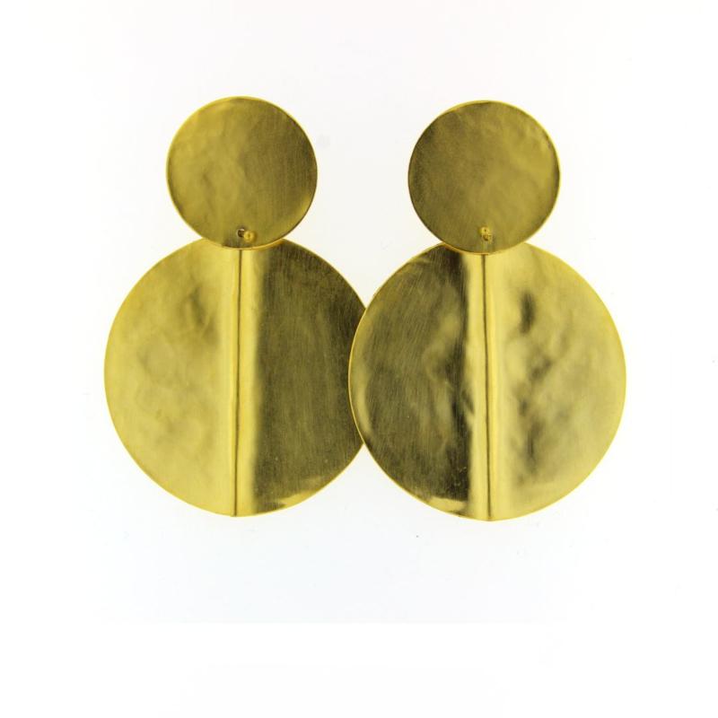 Oorbel mat goud - Taim