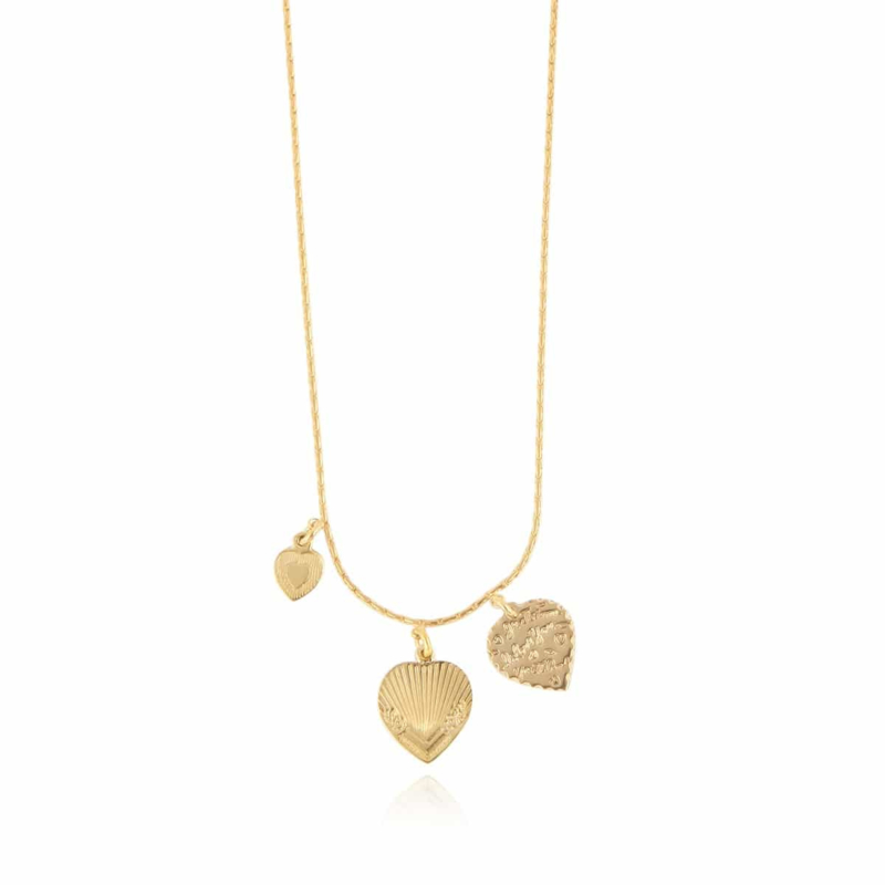 Gas Bijoux Love Mini necklace gold