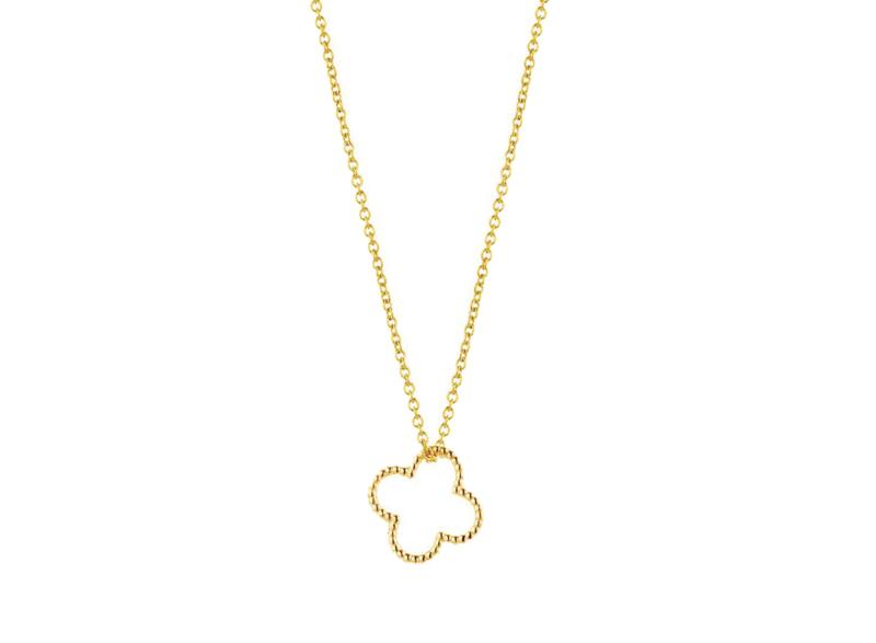 Vintage necklace clover - Just Franky