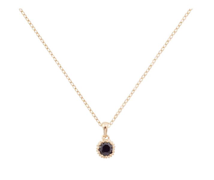 Black moon necklace - Bobby Rose