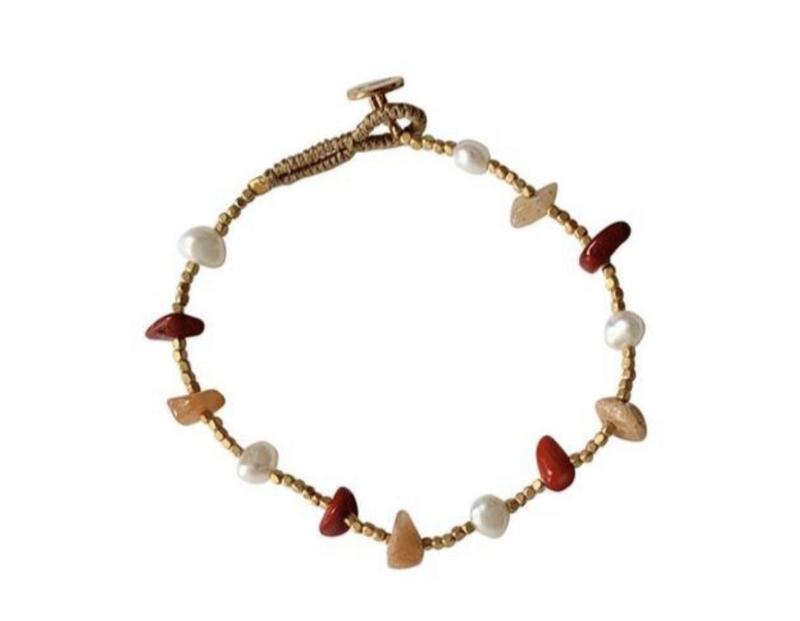 Armband rood mix - Ibu