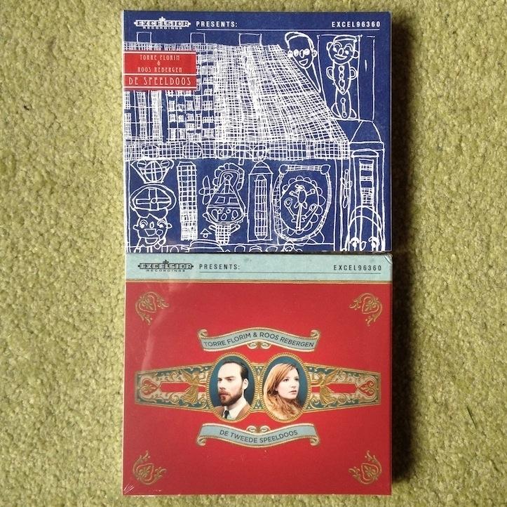 DE SPEELDOOS 1 én 2 DUBBEL-CD