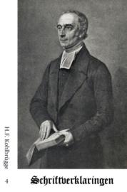 Schriftverklaringen 4 - H.F. Kohlbrügge