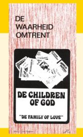 De waarheid omrent de Children of God - De Family of Love - J.I. van Baaren
