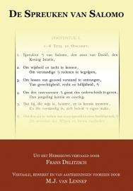 De Spreuken van Salomo - Franz Delitzsch & M.J. van Lennep