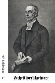 Schriftverklaringen 11 - H.F. Kohlbrügge