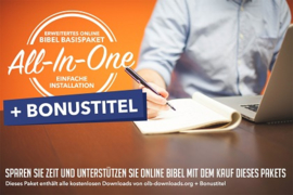 Erweitertes Online Bibel Basispaket (Windows download)