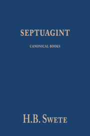 Septuagint - canonical books - Henry Barclay Swete
