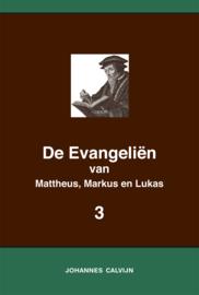 De Evangeliën van Mattheus, Markus en Lukas 3 - in onderlinge overeenstemming gebracht en verklaard - Johannes Calvijn