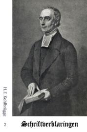 Schriftverklaringen 2 - H.F. Kohlbrügge