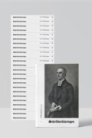 Schriftverklaringen complete set 25 delen - H.F. Kohlbrügge