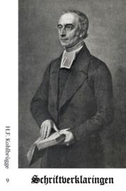 Schriftverklaringen 9 - H.F. Kohlbrügge