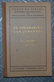 De Openbaring van Johannes - Drs. J. Willemze - Tekst en Uitleg