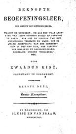 Beknopte Beoefeningsleer - Deel 1 - Ewaldus Kist