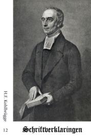 Schriftverklaringen 12 - H.F. Kohlbrügge