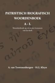 Patristisch Biografisch Woordenboek A t/m L