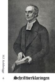 Schriftverklaringen 6 - H.F. Kohlbrügge