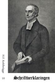 Schriftverklaringen 10 - H.F. Kohlbrügge