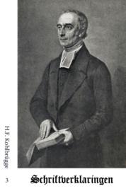 Schriftverklaringen 3 - H.F. Kohlbrügge