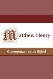 Commentaar op de Bijbel - Matthew Henry
