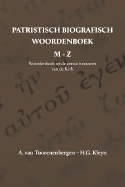 Patristisch Biografisch Woordenboek M t/m Z