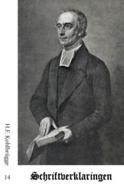 Schriftverklaringen 14 - H.F. Kohlbrügge