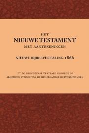 Nieuwe Testament met aantekeningen (Nieuwe Bijbelvertaling uit 1866)